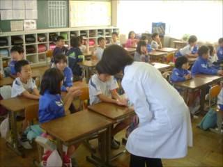 手洗い教室①